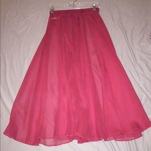 Beautiful wine colored skirt